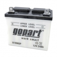 U19MGP Akumulator Gopart, nienapełniony, 12 V, 24 Ah