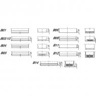 U1R2812KR Akumulator motocyklowy, 12 V, 28 Ah, zamkniety
