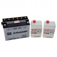 YB50N18LA2KR Akumulator motocyklowy, 12 V, 20 Ah, z elektrolitem