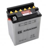YB14A2KR Akumulator Kramp, motocyklowy, 12 V, 14 Ah, z elektrolitem