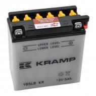 YB5LBKR Akumulator Kramp, motocyklowy, 12V, 5Ah, z elektrolitem