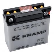 12N553BKR Akumulator motocyklowy, 12 V, 5,5 Ah, z elektrolitem