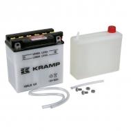 YB9LBKR Akumulator Kramp, motocyklowy, 12 V, 9 Ah, z elektrolitem