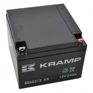 SBA2412KR Akumulator, 12 V, 24 Ah, zamknięty