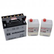 YB16CLBKR Akumulator motocyklowy, 12 V, 19 Ah, z elektrolitem