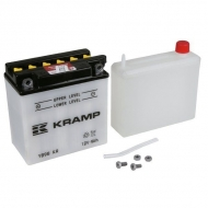 YB9BKR Akumulator Kramp, motocyklowy, 12V, 9Ah, z elektrolitem