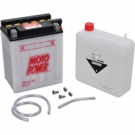 YB14LB2KR Akumulator motocyklowy, 12 V, 14 Ah, z elektrolitem