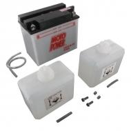 YB16BCXKR Akumulator motocyklowy, 12 V, 19 Ah, z elektrolitem