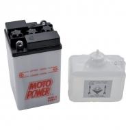 B496KR Akumulator motocyklowy, 6 V, 8A h, z elektrolitem