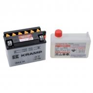 YB4LBKR Akumulator Kramp, motocyklowy, 12V, 4Ah, z elektrolitem