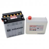 12N12A4A1KR Akumulator Kramp, motocyklowy, 12 V, 12 Ah, z elektrolitem