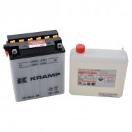 YB12ALAKR Akumulator Kramp, motocyklowy, 12 V, 12 Ah, z elektrolitem