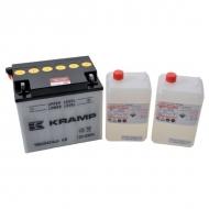 YB60N24LAKR Akumulator Kramp, motocyklowy, 12 V, 25 Ah, z elektrolitem