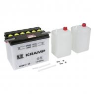 YHD412KR Akumulator motocyklowy, 12 V, 28 Ah, z elektrolitem