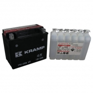 YTX12BSKR Akumulator Kramp, motocyklowy, 12 V, 10 Ah, z elektrolitem