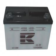 U19MKR Akumulator motocyklowy, 12 V, 24 Ah, z elektrolitem