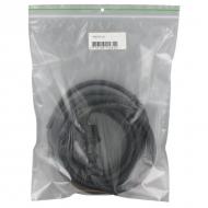 MVS5215L Przewód wymienny neoprenowy z wtyczką, 5 m 2 x 1.5 mm²