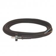 MVS32075 Przewód wymienny gumowy z wtyczką, 3 m 2 x 0.75 mm²