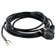 MVS53075 Przewód wymienny gumowy z wtyczką, 5 m 3 x 0.75 mm²