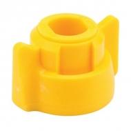 40290706 Pokrywka dyszy 11 mm żółta