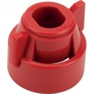 CP1144423CE Pokrywka dyszy TeeJet czerwona, 11 mm
