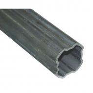 2453G1000 Rura profilowa Bondioli & Pavesi, wewn., seria S4, 44,7 x 3,75 mm, L-1000 mm