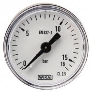 MA4016B02PL Manometr z przyłączem tylnym 1/8', 40mm 0-16bar