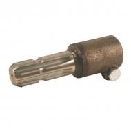 6710229 Redukcja wału WOM Walterscheid, zewn. 8x32x38 mm, wewn. 1 3/8 Z6, L-180 mm
