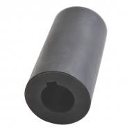 6740165KR Tuleja profilowana, Ø 25 mm, rowek 8 mm, L-100mm