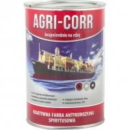 1000201010 Farba Agri-Corr (Corr-Active), podkładowa czarna 1 l, bezpośrednio na rdzę