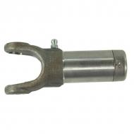 EDS180900322 Widełki z tuleją profilowaną, L-130 mm, maks. odchyl. 25°