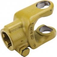 361808 Widłak zewnętrzny ze śrubą zaciskową seria W, Ø 40 mm rowek 12 mm, W2500