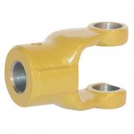 102211 Widłak zewnętrzny z otworem na kołek seria W, Ø 30 mm rowek 10 mm, W2100