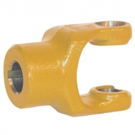102231 Widłak zewnętrzny z rowkiem i otworem gwintowanym seria W, Ø 25 mm rowek 8 mm, W2100