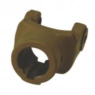 102233 Widłak zewnętrzny z rowkiem i otworem gwintowanym seria W, Ø 30 mm rowek 8 mm, W2100