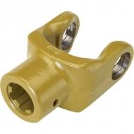 262205 Widłak zewnętrzny z rowkiem i otworem gwintowanym seria W, Ø 50 mm rowek 14 mm, W2600