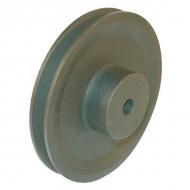106A1 Koło pasowe rowkowe SPA-13 1 rowek, 111 mm