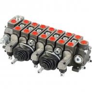 MBVA7001 Rozdzielacz hydrauliczny sekcyjny Mikrus - 7 sekcji