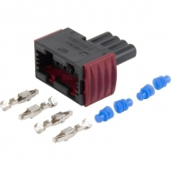 PVG32157B4993 AMP Zestaw podłączeniowy, czarny