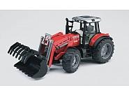 U02042 Traktor Massey Ferguson 7480 z ładowaczem