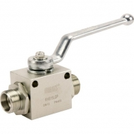 KHS15LGP Zawór kulowy 2/2 - M22x1.5
