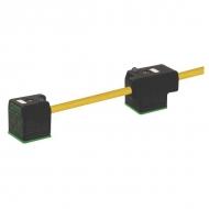 SP888NG101500 Wtyczka podwójna NG10 1500 mm
