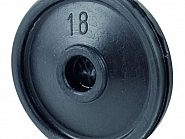 15800200402 Membrana pulsatora pneumatycznego 60/40, mała