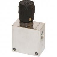 PU16001 Zawór regulacji przepływu 2-drożny PU 16 20A 12 A M