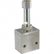 "PFC12RC650000BDG4B 2-drożny zawór regulacji kompensacji ciśnienia NC 1/2"""