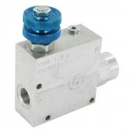 FPRF12G 3-drożny regulator przepływu 1/2 50-9