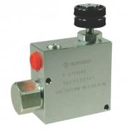 VPR3ET10001ST Zawór regulacji przepływu, 3-drożny, stalowy