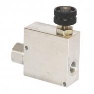 VPR3ET10001 Zawór regulacji przepływu, 3-drożny