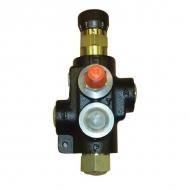 MTCA2VDM08 Zawór regulacji przepływu, 3-drożny, 0-65 l/min
