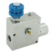 FPRF34STVM210 3-drożny regulator przepływu 3/4 90-15